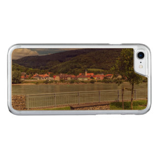 Village of Willendorf on the river Danube, Austria Carved iPhone 8/7 Case