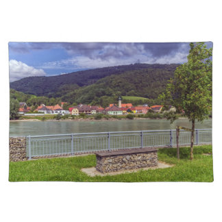 Village of Willendorf on the river Danube, Austria Placemat