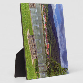 Village of Willendorf on the river Danube, Austria Plaque