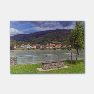 Village of Willendorf on the river Danube, Austria Post-it® Notes