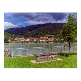 Village of Willendorf on the river Danube, Austria Postcard