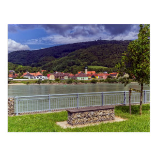 Village of Willendorf on the river Danube, Austria Postcard