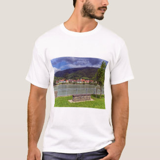 Village of Willendorf on the river Danube, Austria T-Shirt