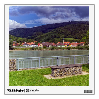 Village of Willendorf on the river Danube, Austria Wall Sticker