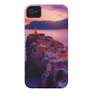 Village on River Landscape iPhone 4 Case-Mate Case