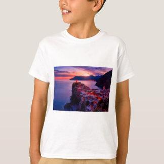 Village on River Landscape T-Shirt