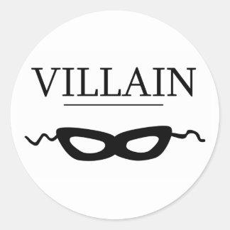 Villain Classic Round Sticker