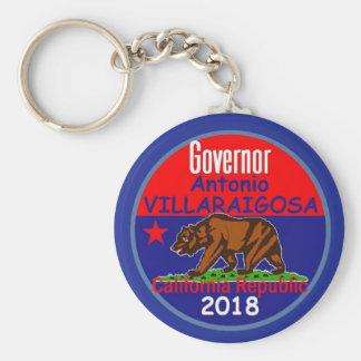 VILLARAIGOSA Governor 2018 Keychain