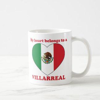 Villarreal Classic White Coffee Mug