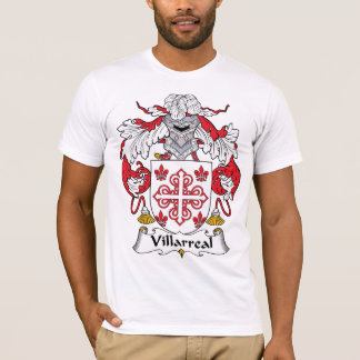 Villarreal Family Crest T-Shirt
