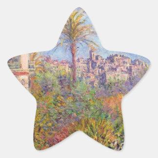 Villas at Bordighera 03 - Claude Monet Sticker