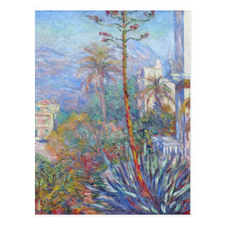 Villas at Bordighera by Claude Monet Postcard