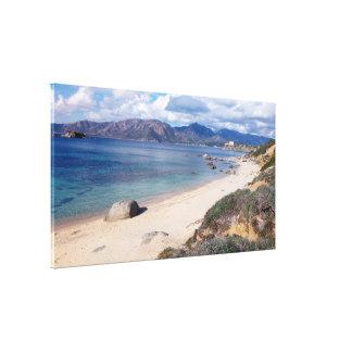 villasimus panoramic view canvas print