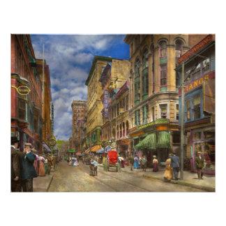 Ville - Providence RI - vivant dans la ville 1906 Prospectus 21,6 Cm X 24,94 Cm