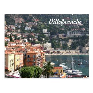 Villefranche, Provence Postcard