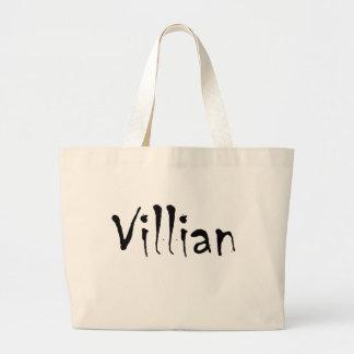 Villian Jumbo Tote Bag