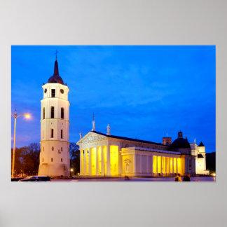 Vilnius Cathedral Poster