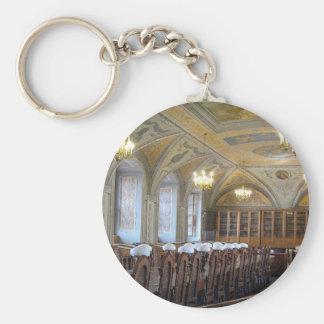 Vilnius University Library - LITHUANIA --- Basic Round Button Keychain