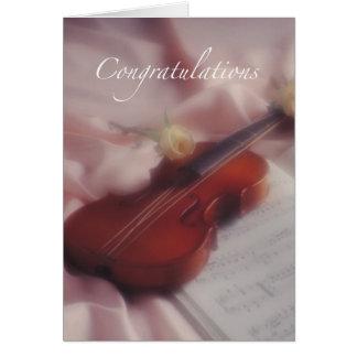 Viloin Congratulations Card