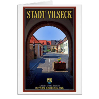 Vilseck - View from Tower Gate Card