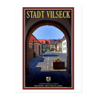 Vilseck - View from Tower Gate Postcard