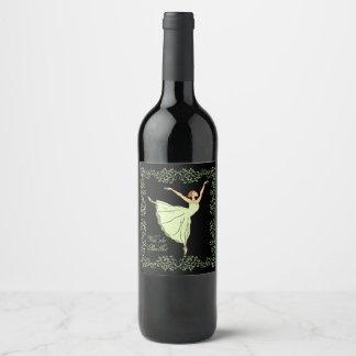 Vin de Ballerina Grace Wine Label