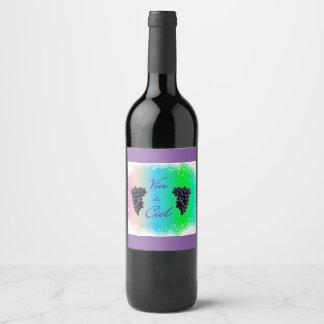Vin du Ciel Wine Label