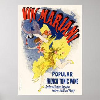 Vin Mariani, Jules Chéret Poster