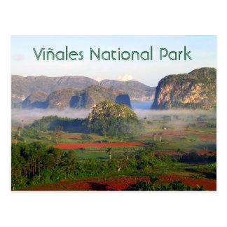 Viñales National Park, Pinar del Rio, Cuba Postcard