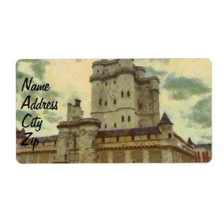 Vincennes castle, Paris painting