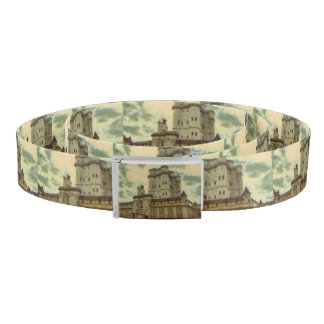 Vincennes castle, Paris painting Belt