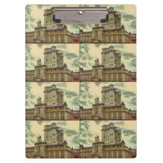 Vincennes castle, Paris painting Clipboard
