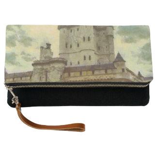 Vincennes castle, Paris painting Clutch