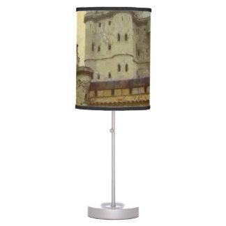 Vincennes castle, Paris painting Desk Lamps
