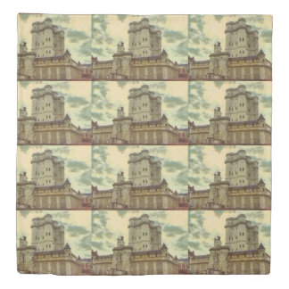 Vincennes castle, Paris painting Duvet Cover