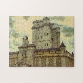 Vincennes castle, Paris painting Jigsaw Puzzle