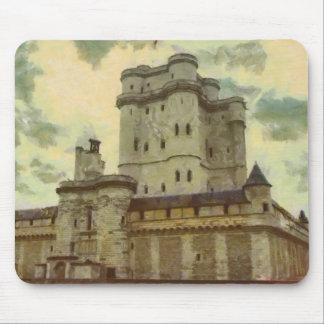 Vincennes castle, Paris painting Mouse Pad