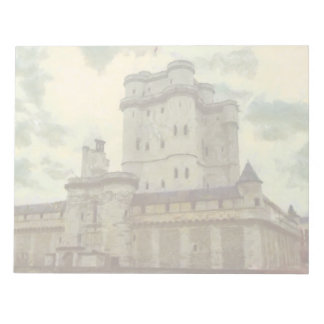 Vincennes castle, Paris painting Notepad