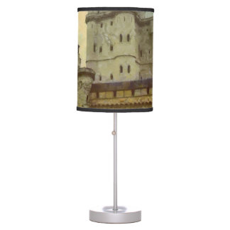 Vincennes castle, Paris painting Table Lamp