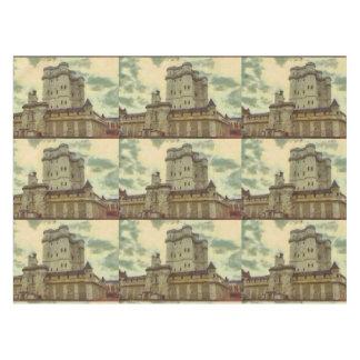 Vincennes castle, Paris painting Tablecloth