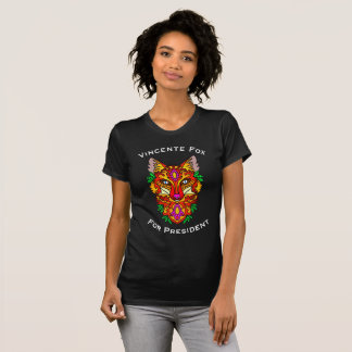 """""""Vincent Fox for President"""" & Colorful Fox T-Shirt"""