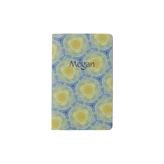 Vincent pattern no. 4 pocket moleskine notebook