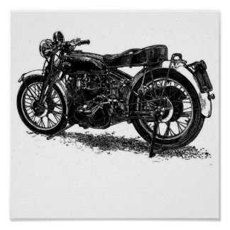 vincent pen and ink poster