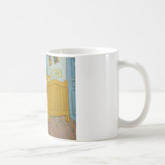Vincent's bedroom at Arles Classic White Coffee Mug