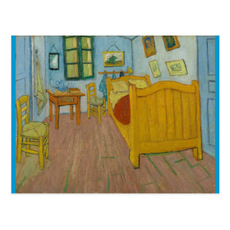 Vincent's bedroom at Arles Postcard