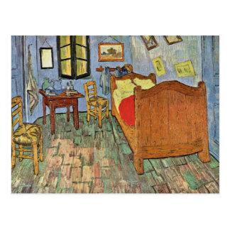 Vincent S Bedroom In Arles By Vincent Van Gogh Postcard