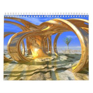 Vincent Stahl: Digital Landscape Art Calendar