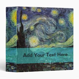 Vincent van Gogh, 梵 高 3 Ring Binder