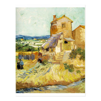 Vincent van Gogh (1853-1890) - The Old Mill (1888) Postcard