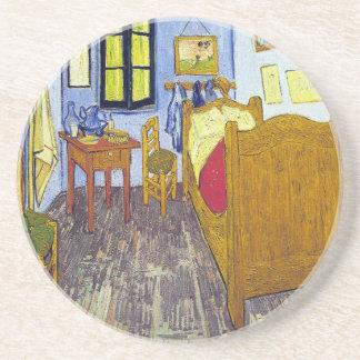 Vincent van Gogh 1888 The Bedroom At Arles Beverage Coasters